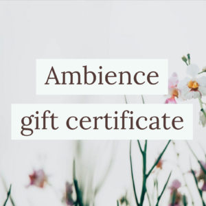Ambience Gift Certificate